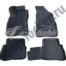 Резиновые коврики на Fiat Doblo 2010-... Lada Locker