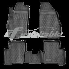 Резиновые коврики на Fiat Grande Punto 2005-2018 Lada Locker