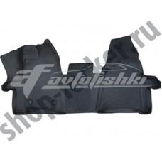 Коврики в салон резиновые для FORD Tourneo Custom 2012-... L.Locker