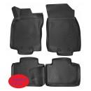 Коврики 3D резиновые для Nissan X-Trail T32 2014-… L.Locker