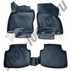 Резиновые 3D коврики на Volkswagen Passat B8 2015-... Lada Locker