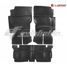 Коврики резиновые УАЗ Hunter 2003-2016 L.Locker