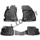 Коврики резиновые Subaru Forester III 2008-2012 L.Locker