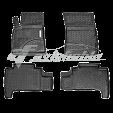 Коврики резиновые на Lexus LX 570 (07-) тэп к-т