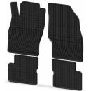 Коврики резиновые на FIAT Grande Punto 2005-2012 черные 4 шт.