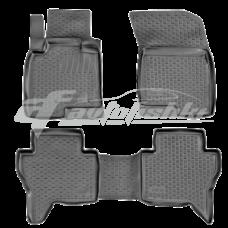 Коврики резиновые на Mitsubishi Lancer X (07-) тэп к-т