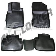Резиновые 3D коврики на Mitsubishi Outlander III 2012-... Lada Locker