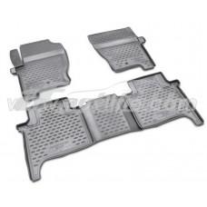 Резиновые коврики в салон на Land Rover Range Rover Sport 2005-2013 Novline (Element)