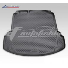 Резиновый коврик в багажник на Volkswagen Jetta VI Trendline (с ушами) 2010-2018 Novline (Element)