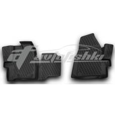Коврики в салон резиновые 3D FORD Tourneo Custom 1+1 2012-... Novline