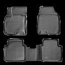 Коврики резиновые на  Nissan Micra (02-) тэп к-т