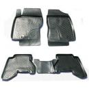 Коврики резиновые на  Nissan Pathfinder III (04-) тэп к-т