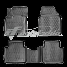Резиновые коврики на Nissan Qashqai +2 2008-2014 Lada Locker