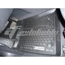 Коврики резиновые на Opel Vektra C (02-) тэп к-т