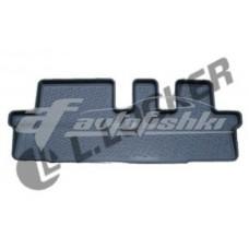 Коврики резиновые на Chevrolet Orlando 3 ряд сид.(10-) тэп к-т