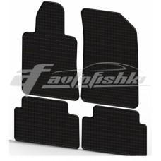 Коврики резиновые на PEUGEOT 508 2011- черные 4 шт.