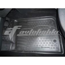Коврики резиновые на Peugeot 206 (06-) тэп к-т