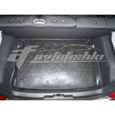 Коврик в багажник на Peugeot 207 Hatchback 2006-... L.Locker