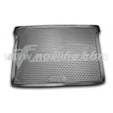 Резиновый коврик в багажник на Peugeot Partner Tepee 2008-2019 Novline