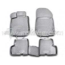 Резиновые коврики в салон на Dacia Logan Sedan (седан) 2004-2013 Novline (Element)