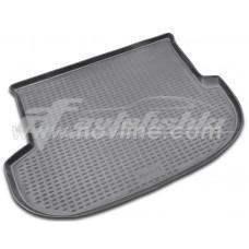 Резиновый коврик в багажник на Hyundai Santa Fe II 2006-2012 Novline (Element)