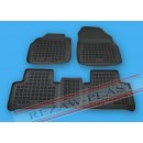 Резиновые коврики в салон для RENAULT Scenic III 2009-… RezawPlast
