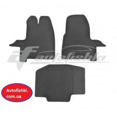 Резиновые коврики в салон для Ford Transit Custom 2012-… Stingray