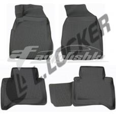 Коврики резиновые на Chevrolet TrailBlazer II (12-) тэп к-т