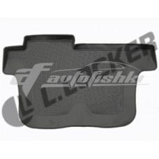Коврики резиновые на Chevrolet TrailBlazer II 3ряд сид (12-) тэ