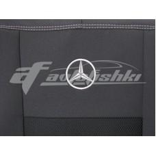 Чехлы на сиденья для Mercedes Sprinter (1+1) 2006-2018 EMC Elegant