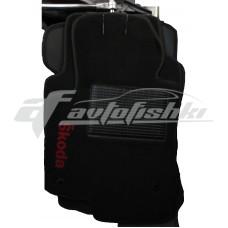 Коврики ворсовые на Peugeot 307 `01-05 Черные
