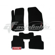 Коврики текстильные для Peugeot 307 `01-05 Черные