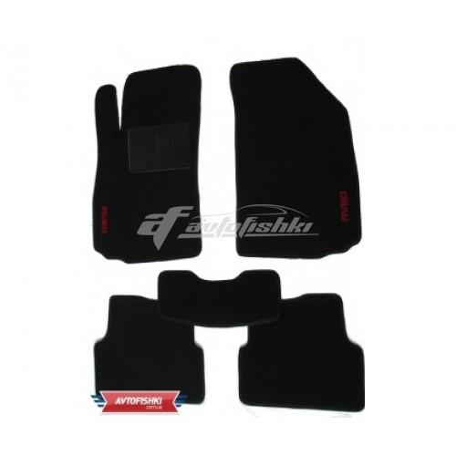 Коврики текстильные для Peugeot 208 `12- Черные