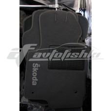 Коврики ворсовые на Chevrolet Captiva `06-11 Серые