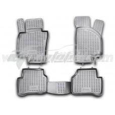 Резиновые коврики в салон на Volkswagen Passat B7 2010-2015 Novline (Element)