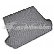 Резиновый коврик в багажник на Volvo XC90 2002-2015 Novline (Element)