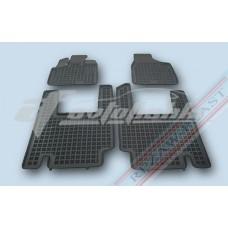 Коврики резиновые для CHRYSLER Voyager V 2006- 5 сидений