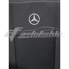Чехлы на сиденья для Mercedes Sprinter (1+2) 2006-2018 EMC Elegant