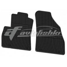 Коврики резиновые на FIAT Fiorino 2os. 2008- черные 4 шт.