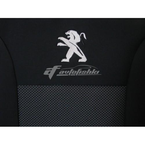 Чехлы на сиденья для Peugeot Partner (1+1) с 2002–08 г