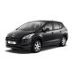 Ворсовые коврики для авто Peugeot 3008 I 2009-2016
