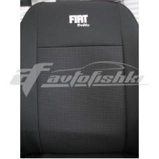 Чехлы на сиденья для Fiat Doblo (1+1) c 2010 г