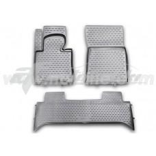 Резиновые коврики в салон на Land Rover Range Rover Vogue III 2002-2012 Novline (Element)