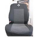Чехлы на сиденья для Renault Fluence (цельный) с 2012 г