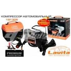 Компрессор автомобильный (12 В, 15 А, 10 АТМ, 37 Л/МИН, премиум, переходник на прикуриватель) Lavita