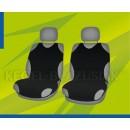 Универсальные чехлы (майки) на передние сиденья, черные