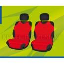 Универсальные чехлы (майки) на передние сиденья, красные