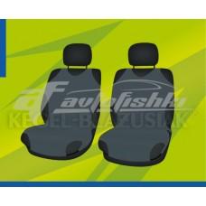 Универсальные чехлы (майки) на передние сиденья, темно-серые