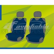 Универсальные чехлы (майки) на передние сиденья, гранатовые