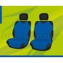 Универсальные чехлы (майки) на передние сиденья, светло-синие